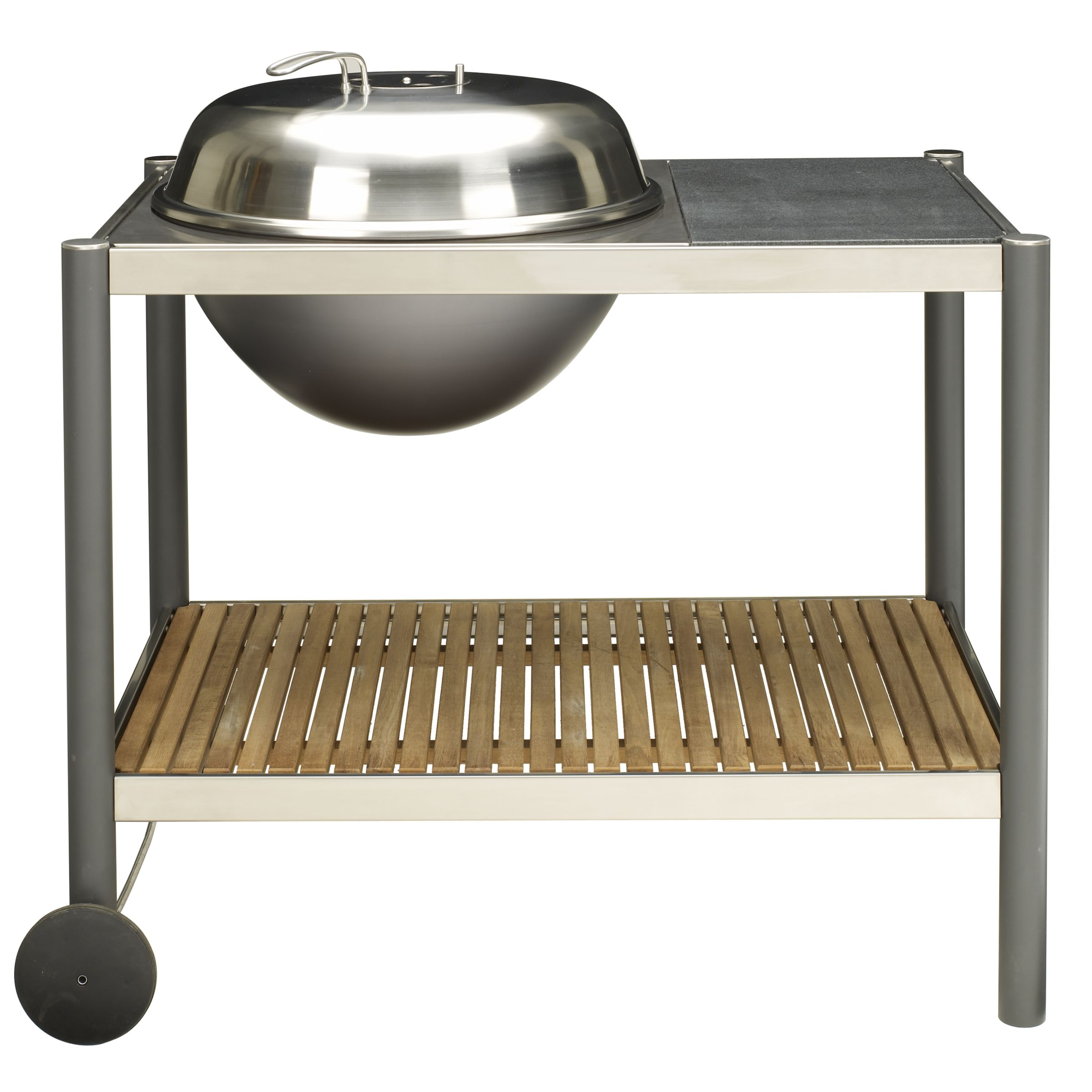 John Lewis JLT1 Trolley Charcoal Barbecue with Cover