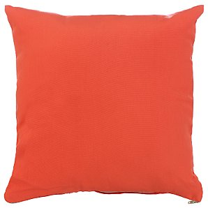John Lewis Scatter Cushion, Flame, 40x40cm