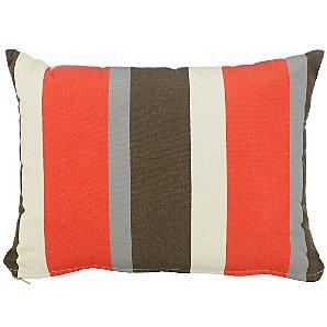 John Lewis Scatter Cushion, Flame Stripe, 30x40cm