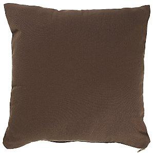 John Lewis Scatter Cushion, Peat, 40x40cm