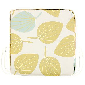 John Lewis Small Seat Pad, Leaf