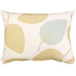 John Lewis Scatter Cushion, Leaf, 30x40cm