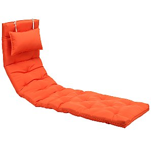 Royal Garden Alexo Lounger Cushion, Flame