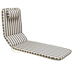 Royal Garden Alexo Lounger Cushion, Stripe