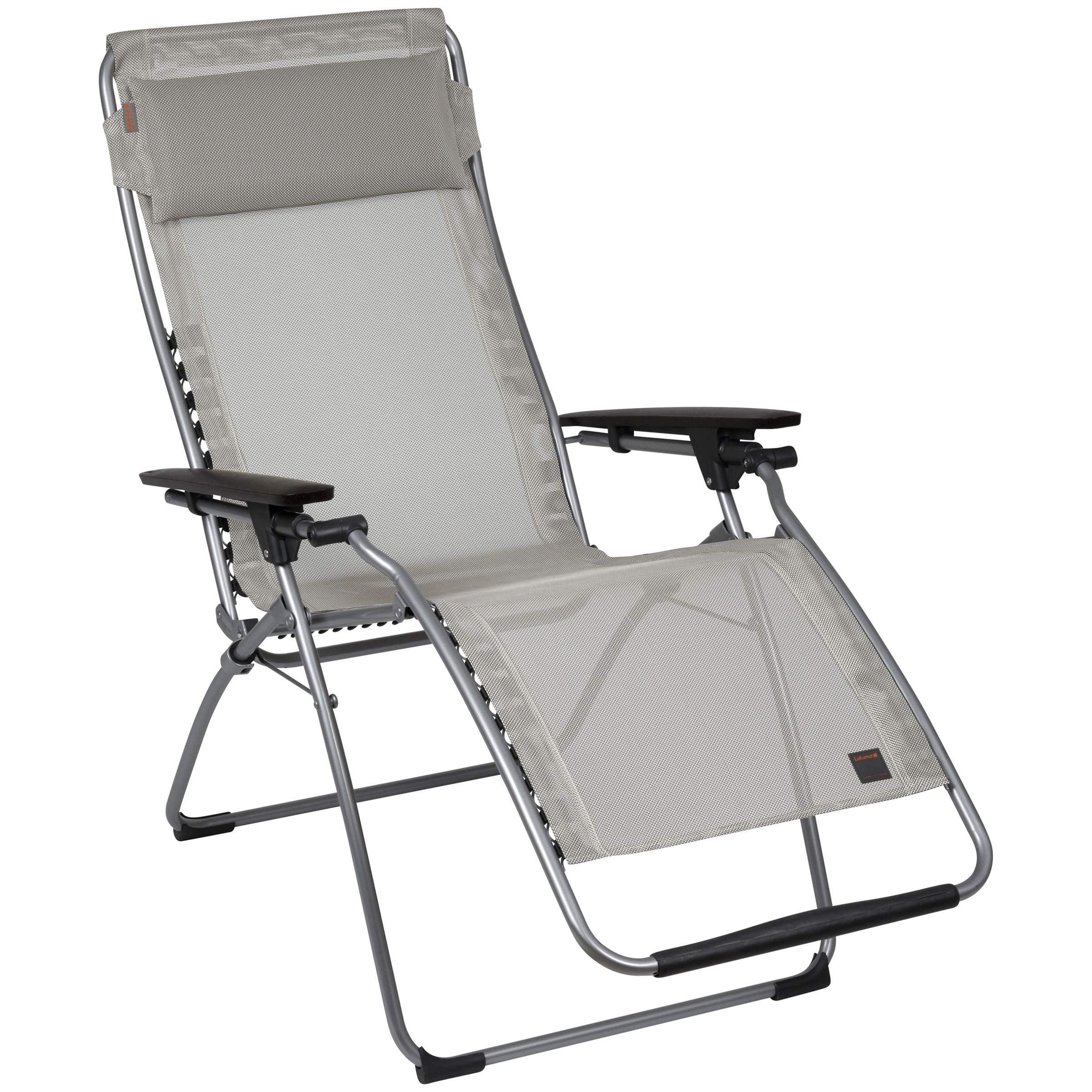Futura Outdoor Relaxer Chair, Charcoal, Extra Large