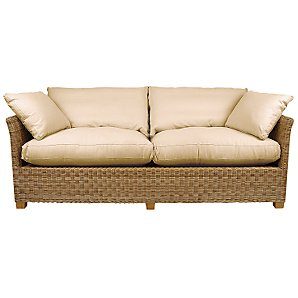 Buy John Lewis Nomad Small Wicker Sofa online at JohnLewis.com