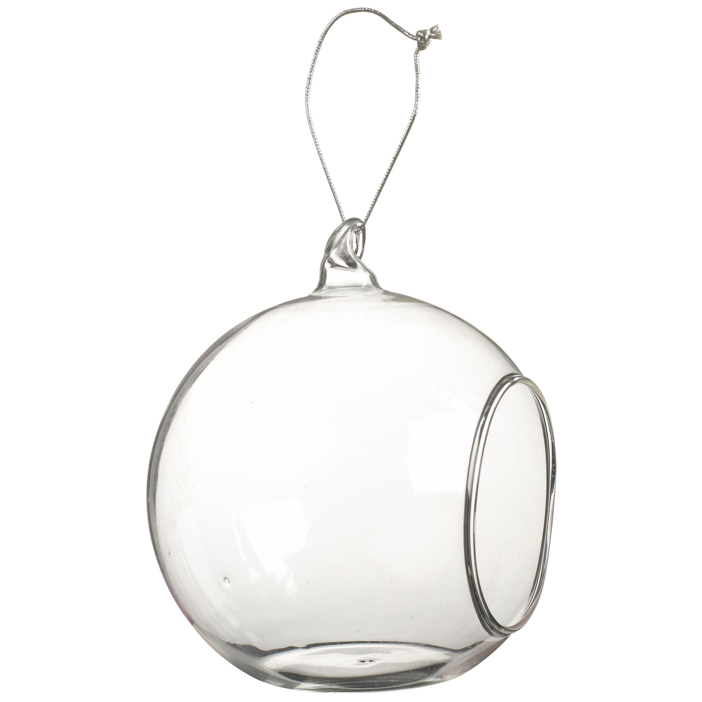 John Lewis Hanging Bubble Tealight Holder