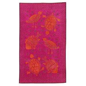 John Lewis Fish Beach Towel, Pink