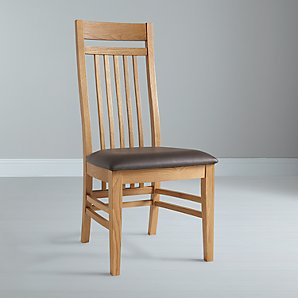 John Lewis Burford Slatted Dining Chair