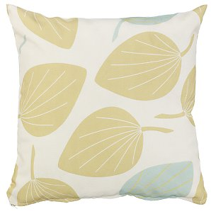 John Lewis Scatter Cushion, Leaf Green, 40x40cm