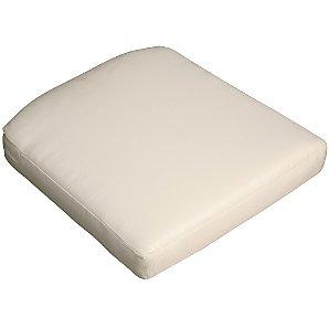Barlow Tyrie Savannah Armchair Seat Cushion, White Sand