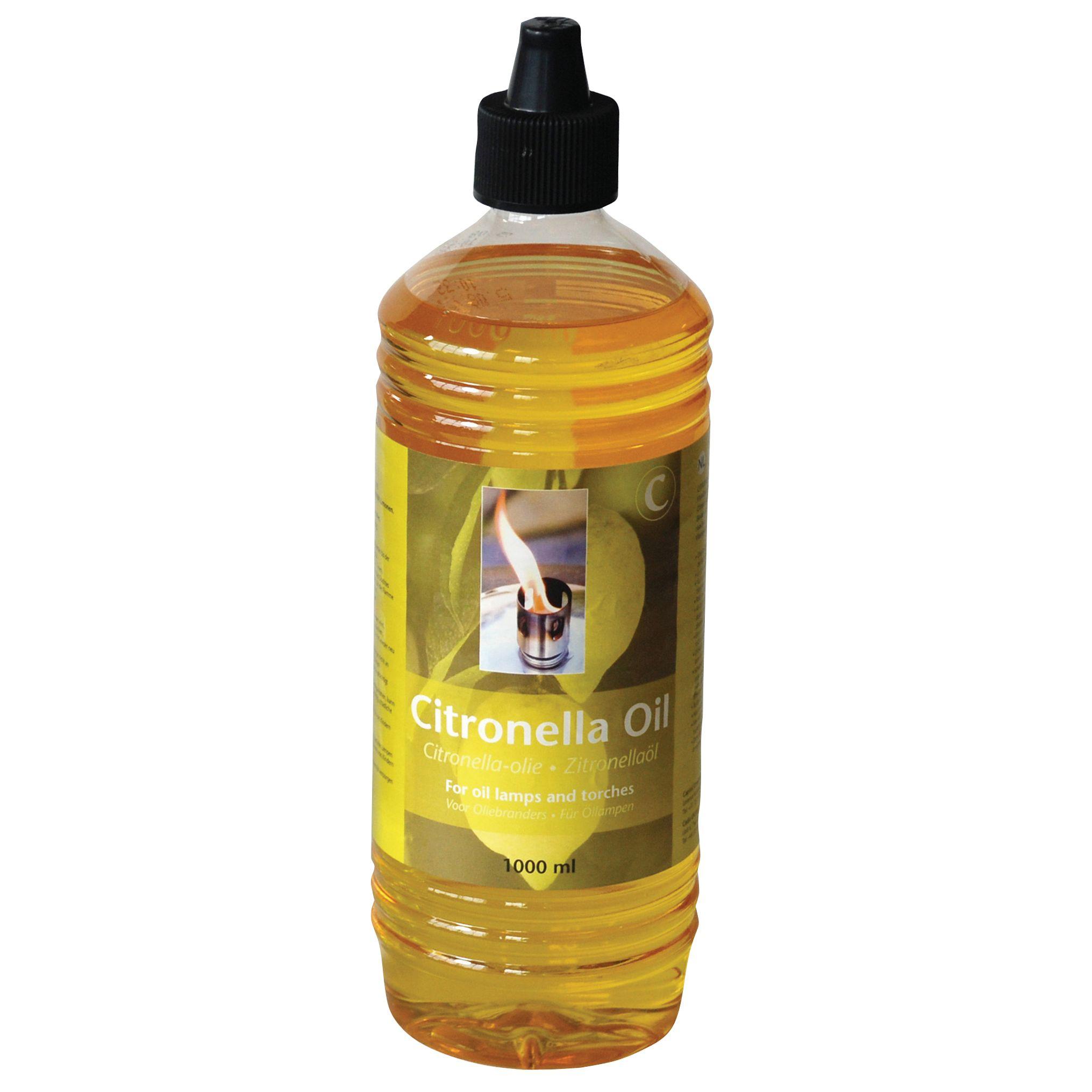Citronella Lamp Oil, 1L