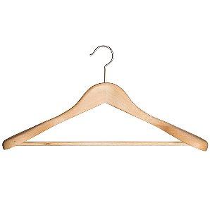 John Lewis Rib Suit Hanger, Beech