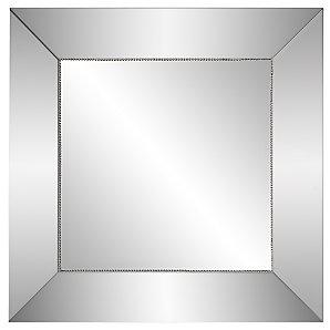 Bead Bevelled Mirror, H50 x W50cm