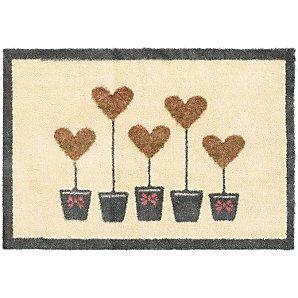 John Lewis Topiary Hearts Doormat