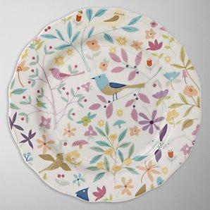Portmeirion Secret Garden Porcelain Dessert Plate