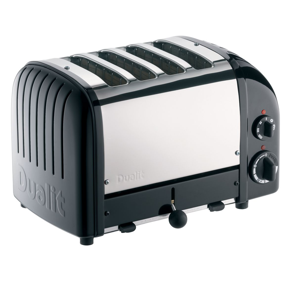 Dualit NewGen Toaster, 4-Slice, Black at JohnLewis