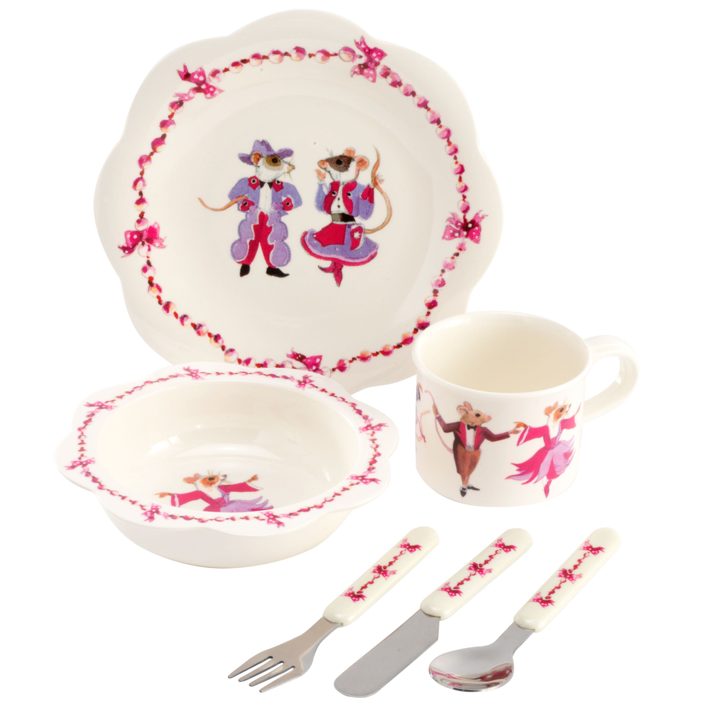 Emma Bridgewater Mouse Plate Set