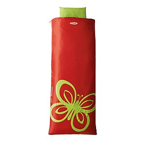 Woodland Jo Tolley Junior Sleeping Bag, Red