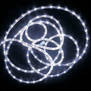 LED Rope Light, White, 6M