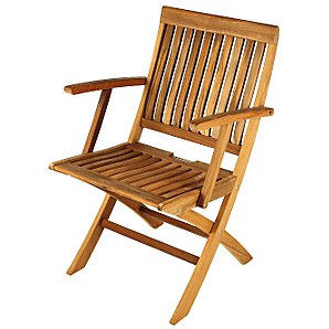 Barlow Tyrie Monaco Folding Garden Armchair