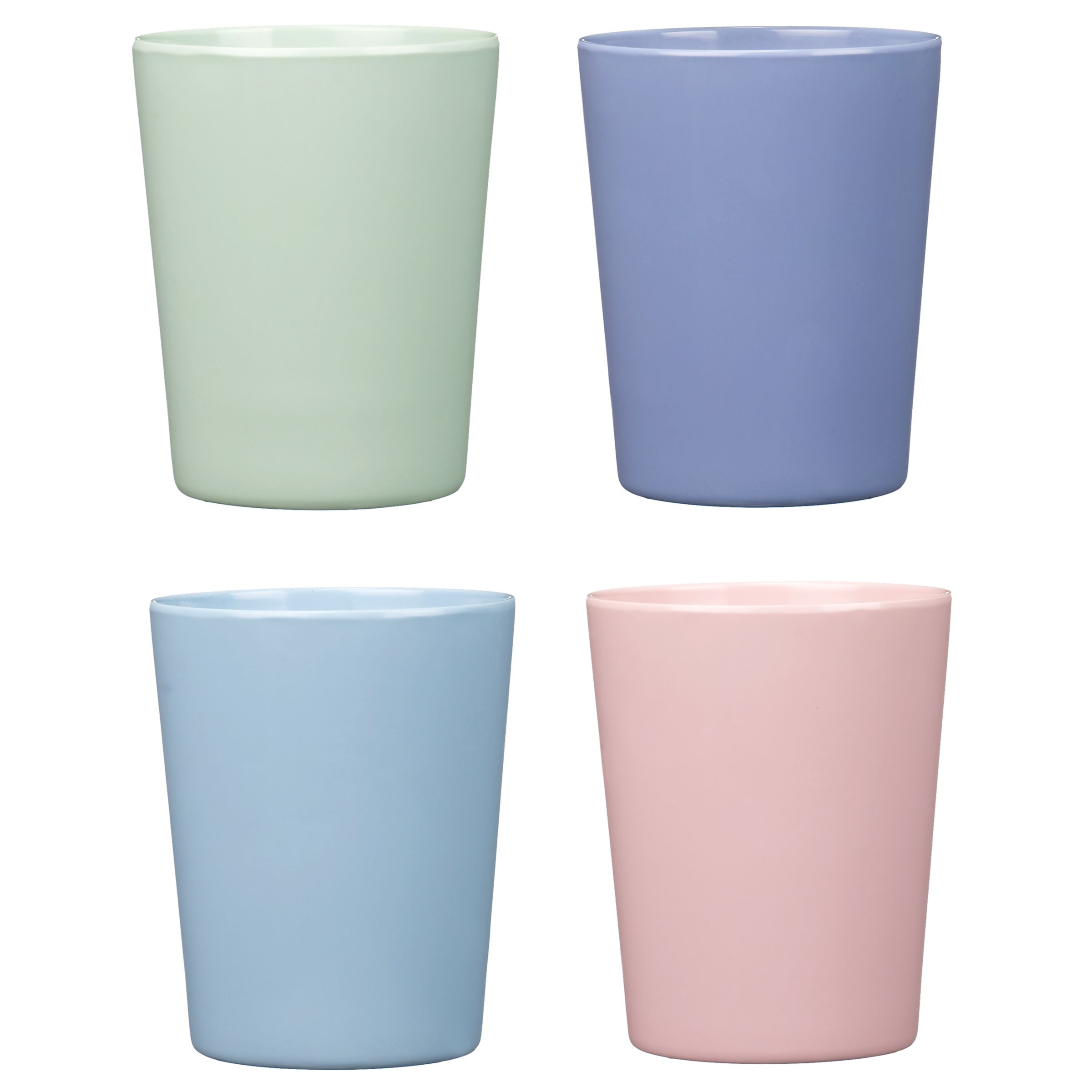 Miniamo Pastels Tumblers, Set of 4