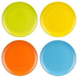 Miniamo Brights Plates, Set of 4
