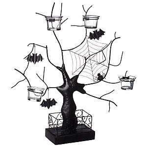 John Lewis Halloween Tree Tea Light Holder