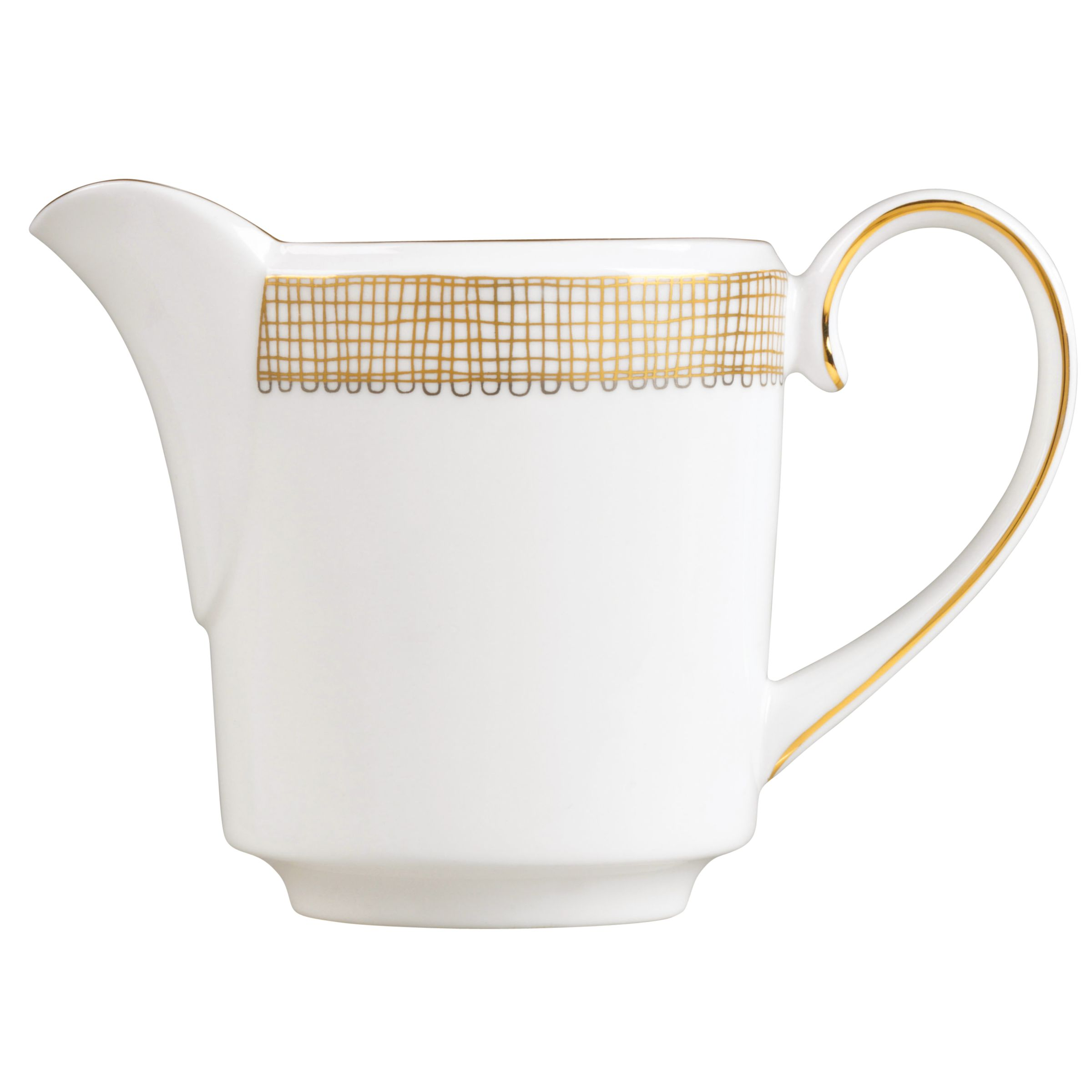 Wedgwood Vera Wang Gilded Weave Covered Cream Jug