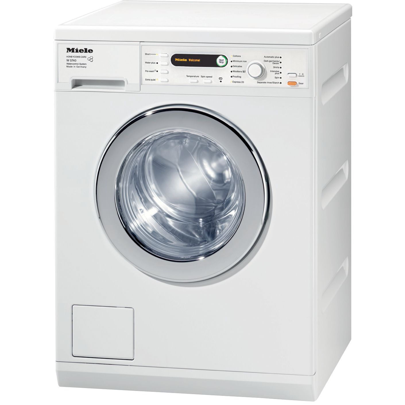 Miele W5740 Washing Machine, 7kg Load, A+++ Energy Rating, 1400rpm Spin, White
