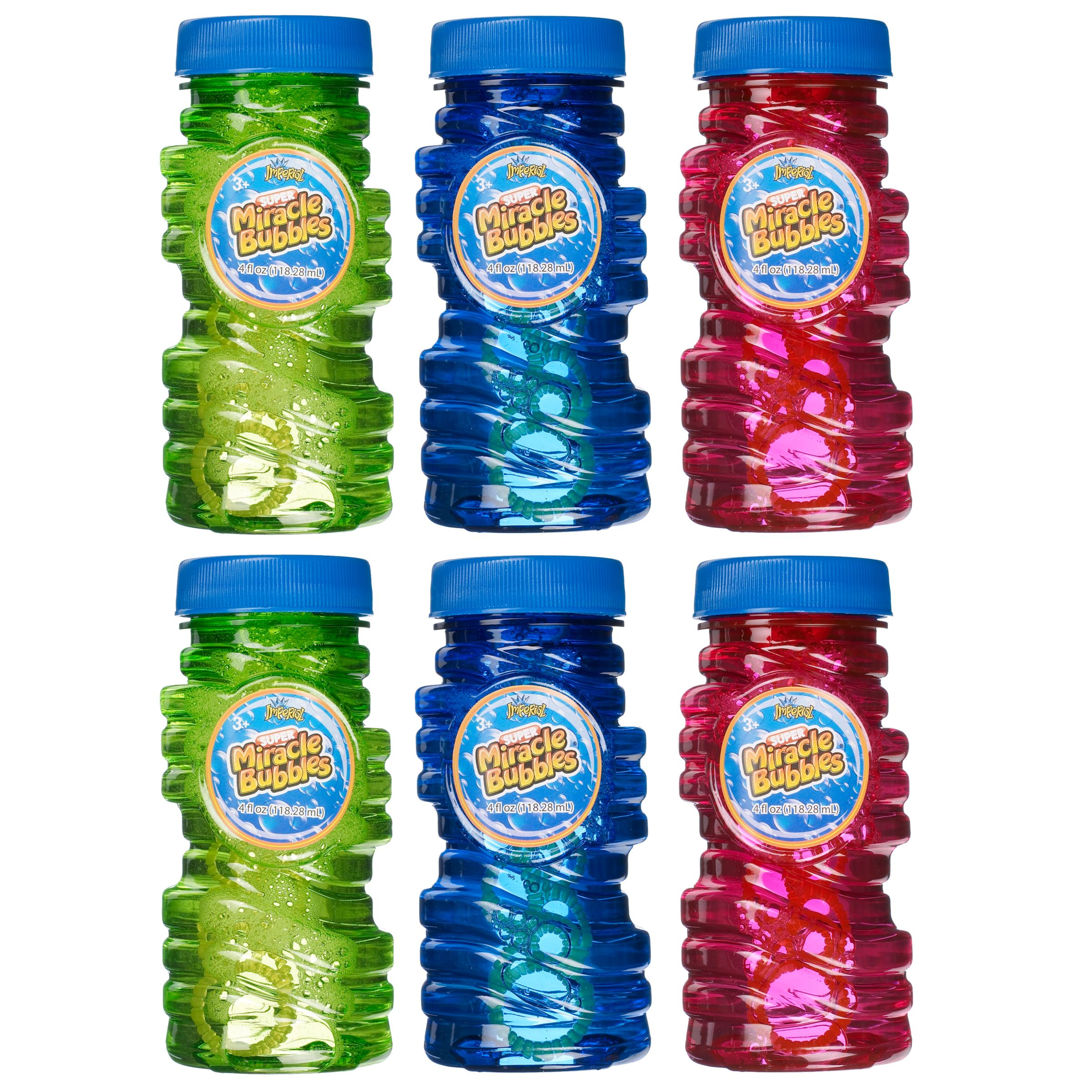 Super Miracle Bubbles, Pack of 6
