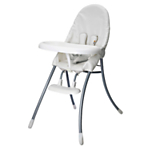 Bloom Nano Urban Highchair, Coconut White