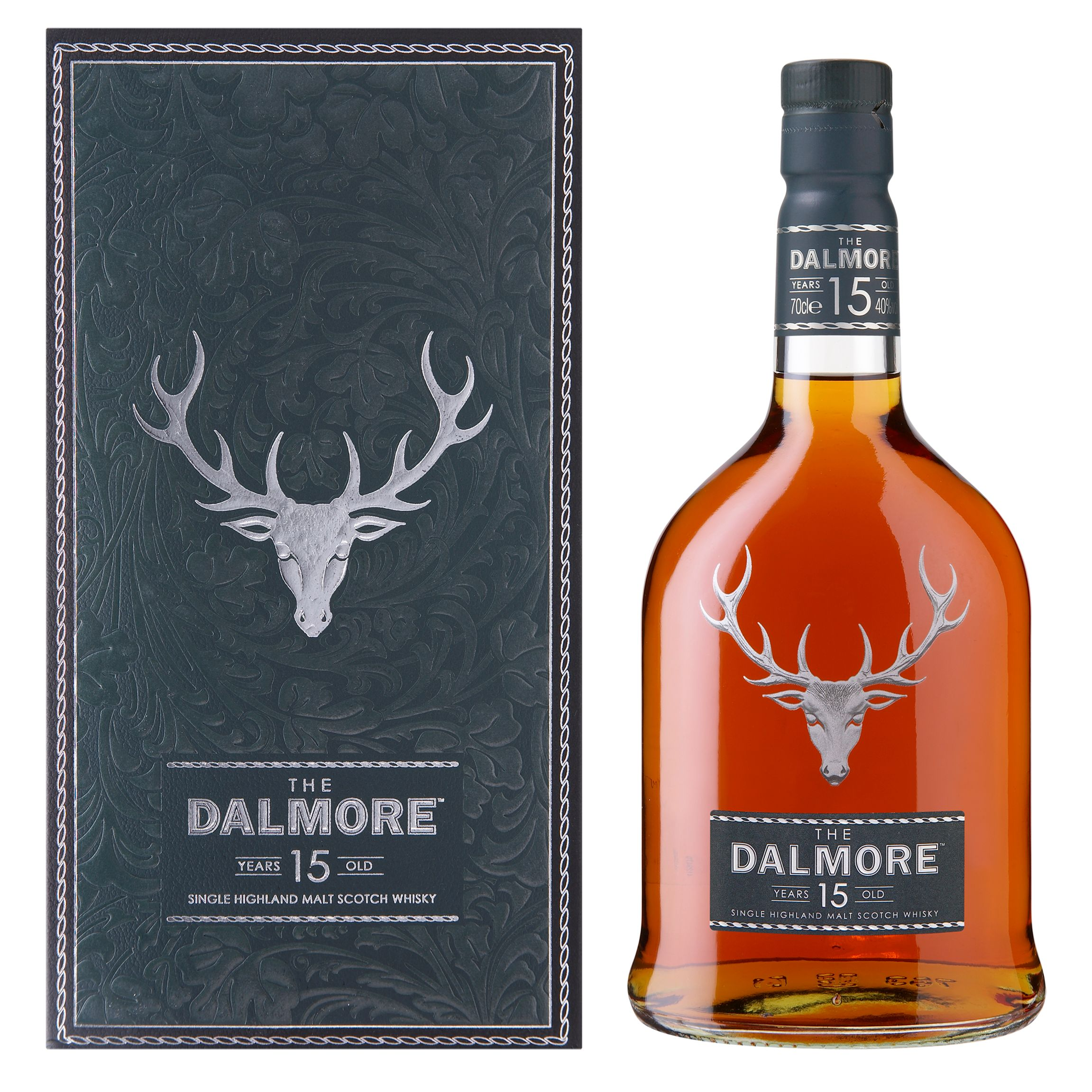 The Dalmore 15 Year Old Highland Single Malt Whisky