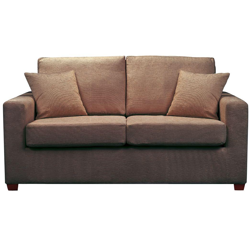 John Lewis Ravel Medium Sofa Bed, Brown at John Lewis