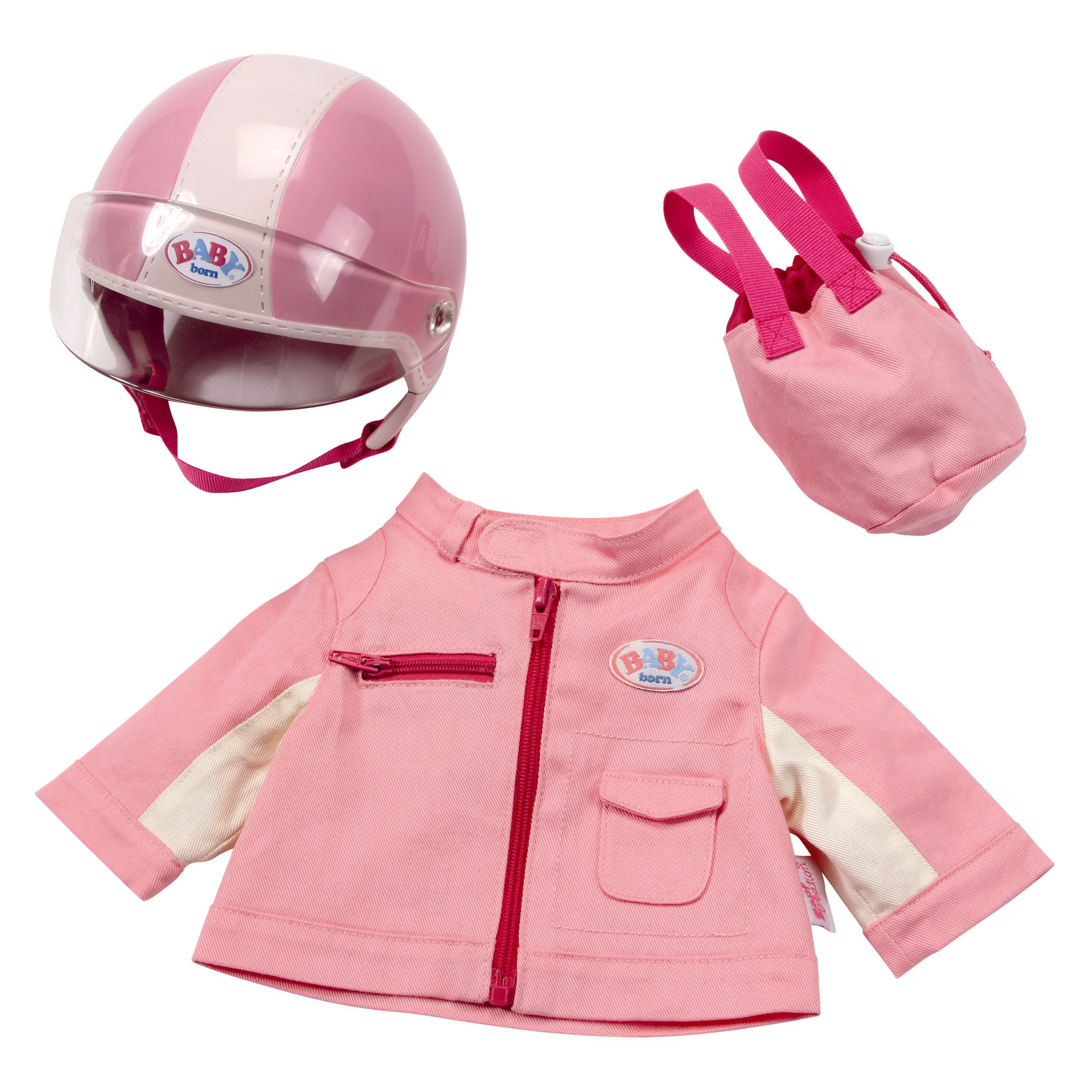 Baby Born Super Deluxe Scooter Outfit Set