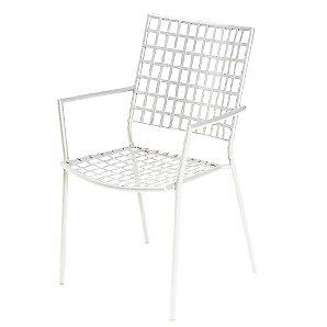 Emu Veranda Garden Armchair, White