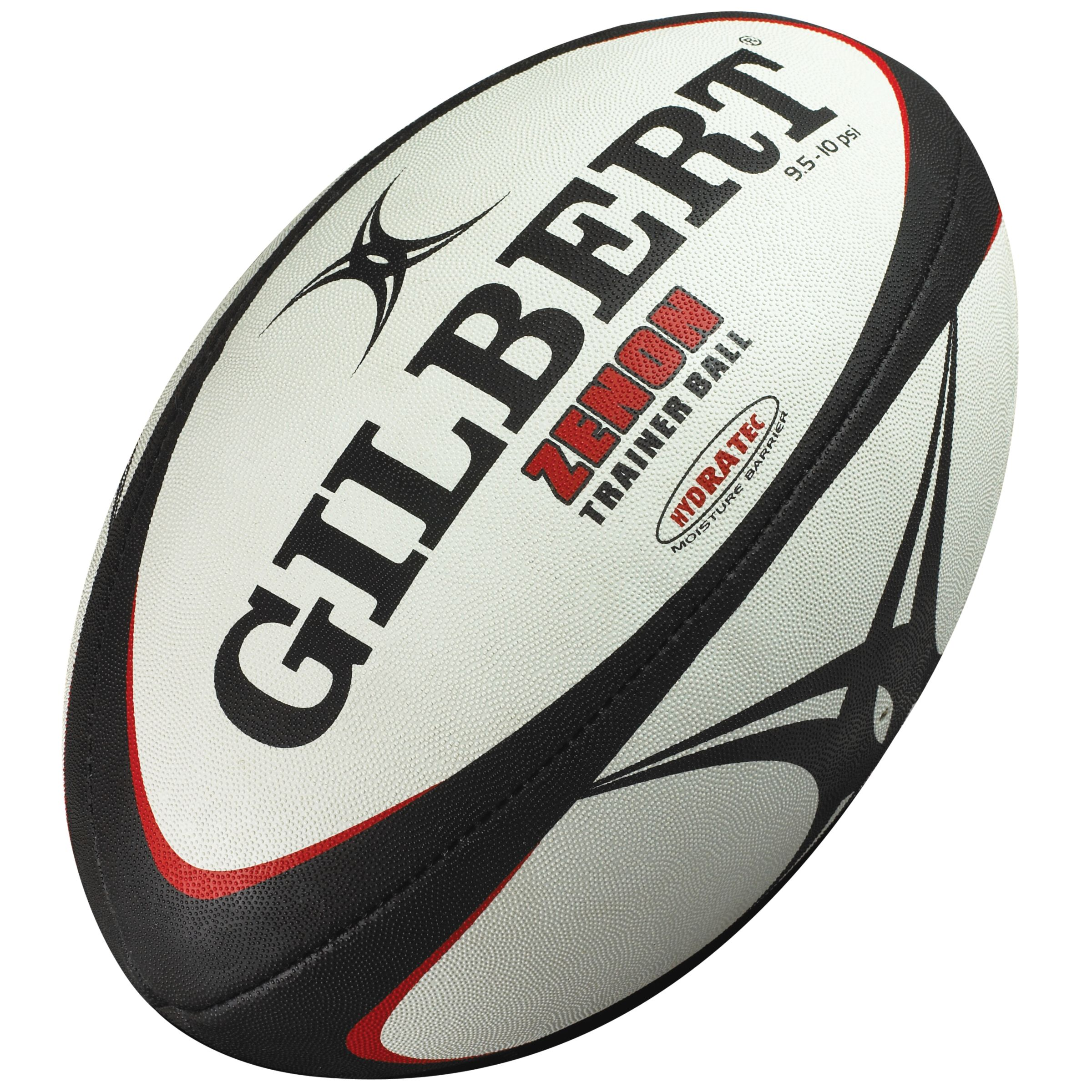 James Gilbert Zenon Trainer Rugby Ball, Size 4