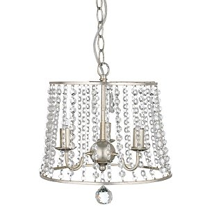 Ceiling Light With Round Glass