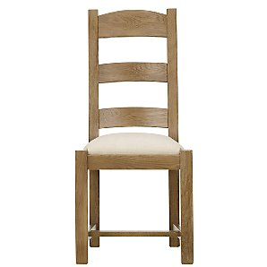 John Lewis Ardennes Fabric Dining Chair, Cognac