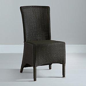 John Lewis Neptune Havana Lloyd Loom Dining Chair, Slate