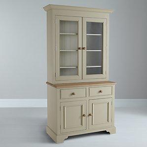 John Lewis Neptune Chichester Open Rack Dresser, Limestone