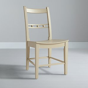 John Lewis Neptune Suffolk Dining Chair, Limestone