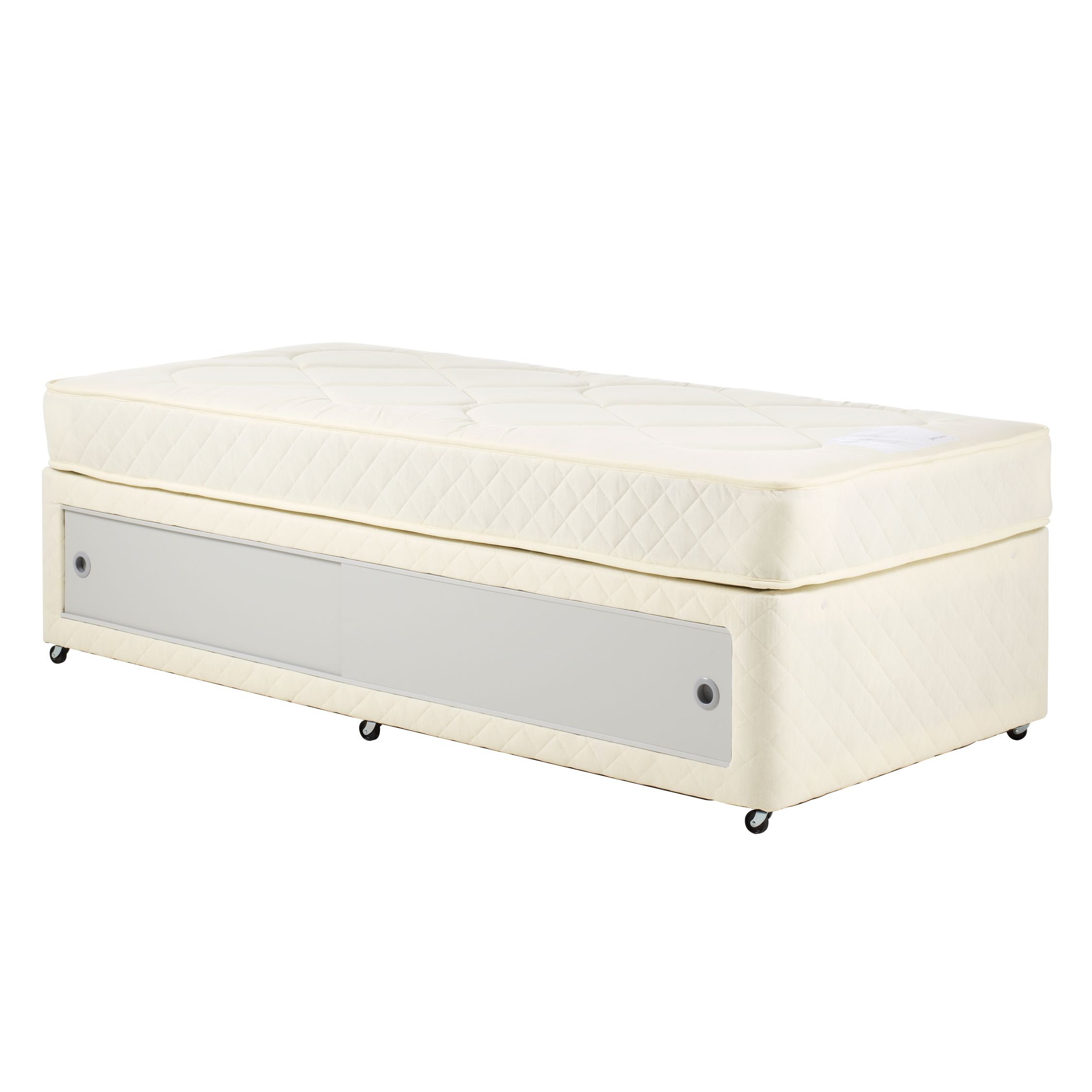 John Lewis Slide Store Divan Set, Single at JohnLewis
