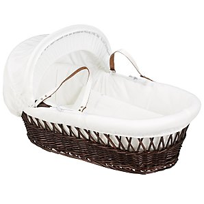 John Lewis Dream Along With Me Wicker Moses Basket