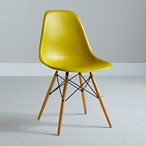 Eames DSW Side Chair, Mustard