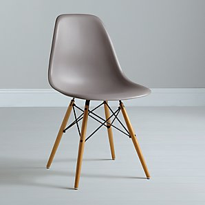 Eames DSW Side Chair, Mauve Grey