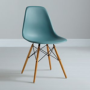 Eames DSW Side Chair, Ocean