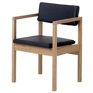 Case West Street Armchair, Oak