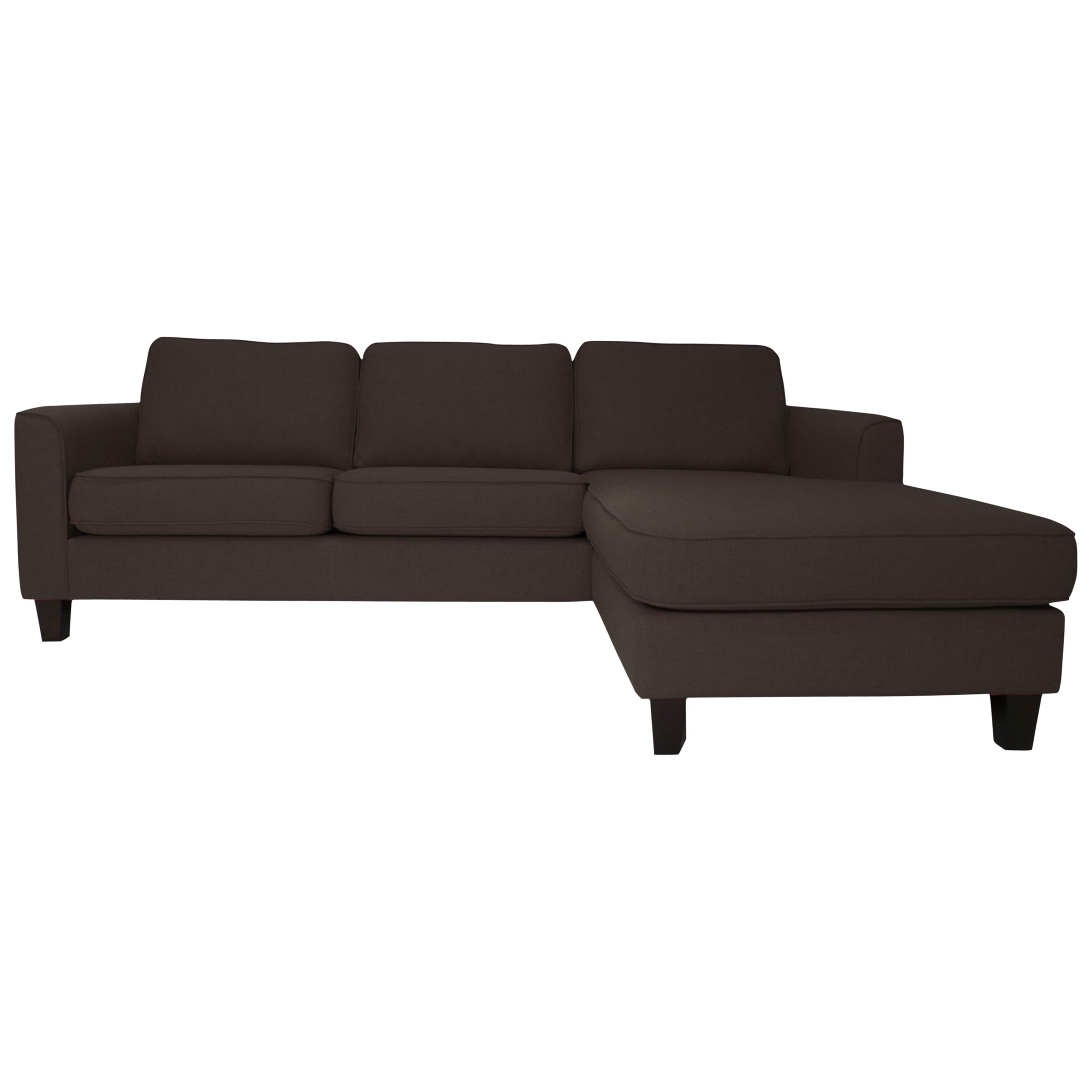 John lewis portia lhf chaise end sofa charcoal review for Chaise end sofas