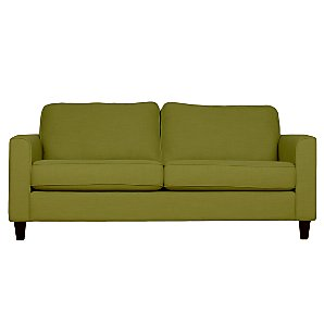 John Lewis Portia Medium Sofa, Olive